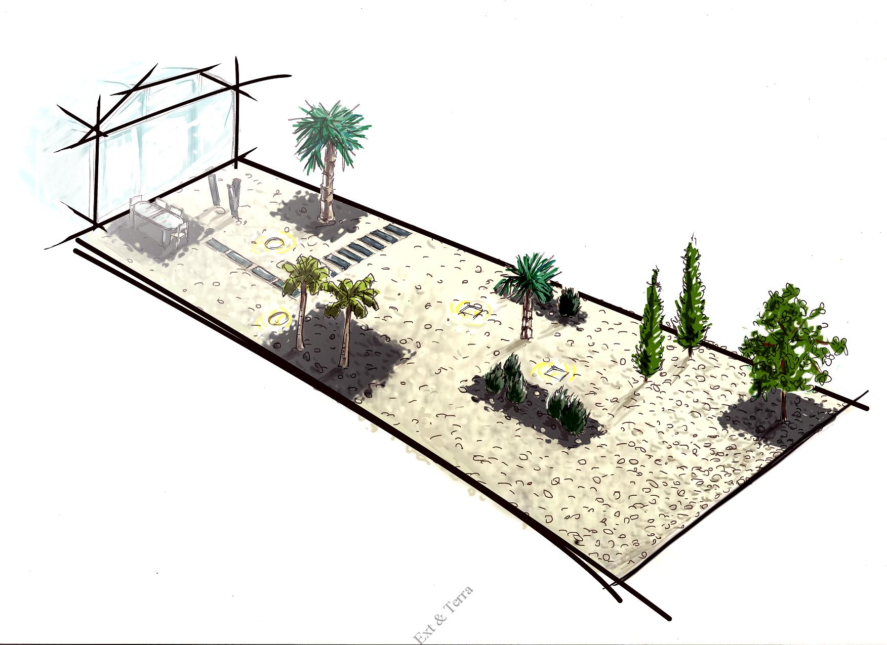 Cr ation de jardin terrasse bois composite terrasse for Concepteur de stand