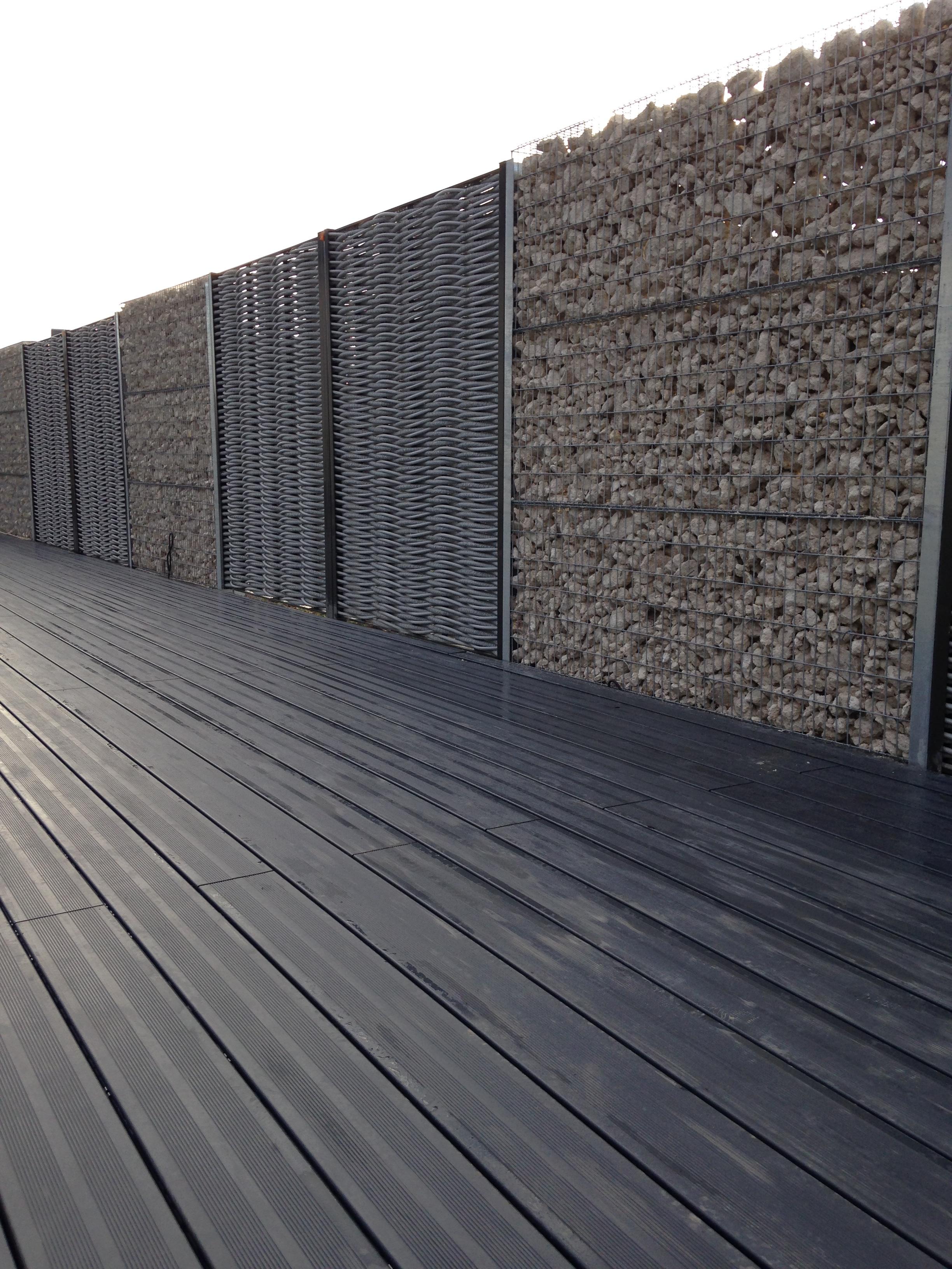 gabion terrasse bois composite am nagement ext rieur paysagiste saint cyr sur loire tours. Black Bedroom Furniture Sets. Home Design Ideas