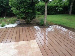 Terrasse bois composite